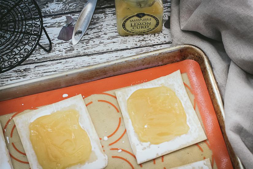 lemon pop tarts with filling